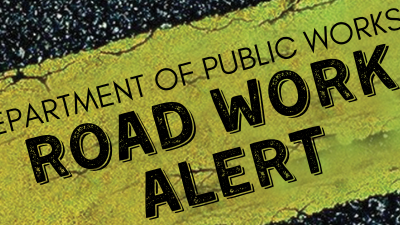 Public Works Reminder Of Ongoing Road Works