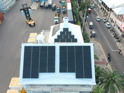 City Completes Major Installation Of 78 Solar Panels At Front Street Sewage Pump Station