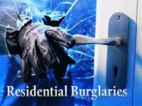 Police Advisory Following Reports Of Residential Burgalries & Prowlers