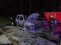 BFRS Extinguish Another Car Fire On Parsons Road In Pembroke