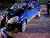 BFRS: Two Men Extracted From Honda CRV Crash After 11PM Curfew