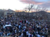 Police Shut Down Out-Of-Control Party In Colorado After 800 'Maskless' Young People Gathered In Street