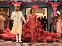 'Coming 2 America' Wedding Dress Was So Massive, Bride Needed Help To The Altar