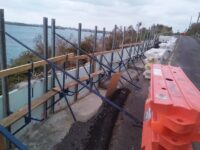 Further Extension Needed For Harbour Road Wall Repairs
