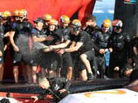 Team New Zealand Retain America's Cup In Home Waters