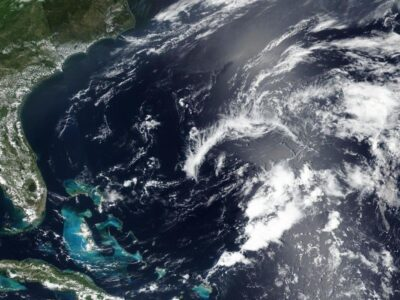 Tropical Storm Odette Swirls Off East Coast With Peter's Formation Imminent