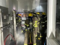 Firefighters Extinguish Kitchen Fire At MWI