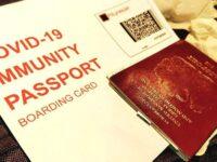 UK Eyes Testing COVID-19 Passports At Mass Gatherings