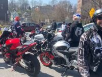 Ruff Ryders Biker Gang Linked To DMX's Rap Collective Turn Up Outside White Plains Hospital To Pay Respect