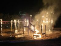 Police Arrest Made In Connection With Playground Fire – More Arrests Anticipated