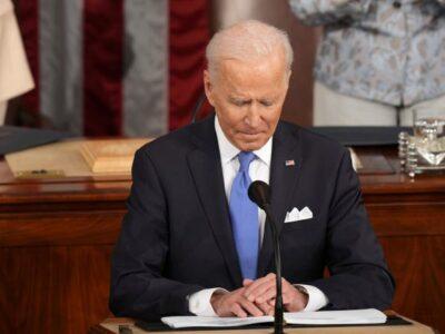 US President Joe Biden Takes Aim At Bermuda
