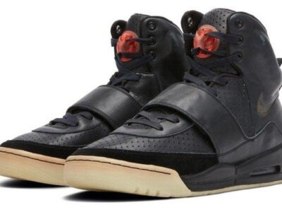 Kanye West's $1M Yeezy Shoes Are 'Most Valuable To Go On Auction'