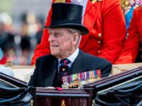 RBR Rifle Salute At 12 Noon As Condolences Pour In Following The Death Of Prince Philip