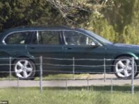 The Queen Is Seen For The First Time Since Prince Philip's Funeral As She Takes Wheel Of Jaguar