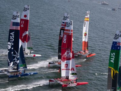 SailGP: 'Seven Rival Teams With Lineups That Include Multiple-Olympic Medalists