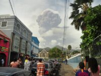 St Vincent Awaits New Volcanic Explosions As Aid Arrives On The Caribbean Island