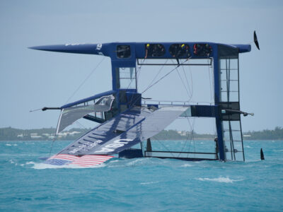 Sailing: Australian Crew Capsize Jimmy Spithill-Skippered US Boat In SailGP Practice