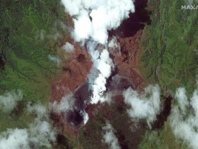 St Vincent's La Soufrière Volcano Eruption Spotted From Space
