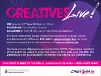 Heritage Month: Creatives Live! Featuring The Tino Martinez Quintet