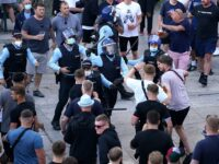 Chelsea & Man City Supporters Clash In Porto As Riot Police Threaten Warring Fans Ahead Of Champions League Final