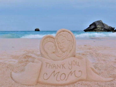Sandcastle Happy Mother's Day Greetings