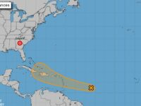 Danny Weakens To Tropical Depression Hours After Landfall North Of Georgia & South Carolina Border