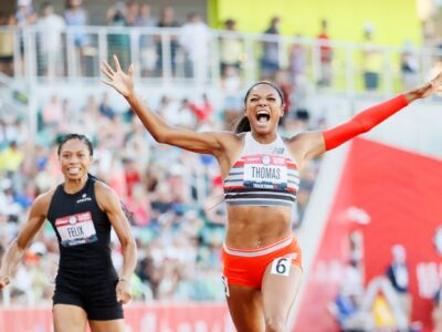 Harvard Grad Gabby Thomas Is 'Speechless' After Running Third-Fastest 200 Ever, Qualifies For Tokyo
