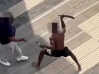 Thugs Slash Each Other With Machetes In Mass Brawl On Day Of Violence In London