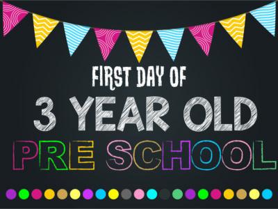 Registration For Bright Start Programme 2021/2022 For Three-Year-OldsPostponed