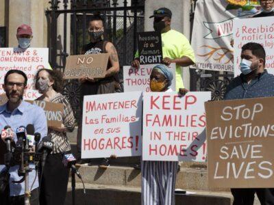 Evictions Loom After Biden & Congress Fail To Extend Ban