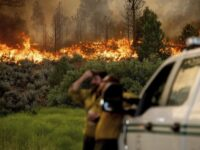 California Wildfire Advances As Heat Wave Blankets US West
