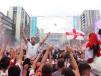 Euro 2020: England Fans Fill Streets Ahead Of Euro Final Against Italy