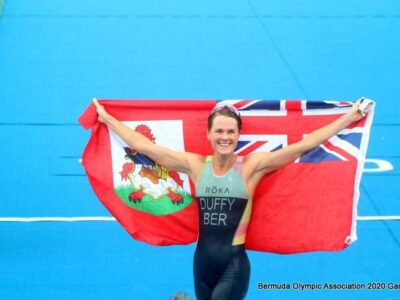 Flora Duffy Video: 'This Has Always Been My Personal Goal To Win An Olympic Gold Medal'