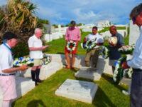 Sombre Memorial Service Held For Those Lost At Sea Off Bermuda