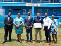 Government Presents $75,000 To St George's Cricket Club