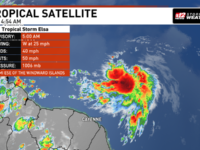 Tropical Storm Elsa Forms, South Florida In The Cone