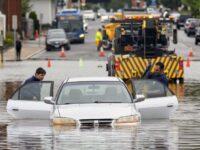 Tropical Storm Elsa Soaks NYC As It Races Up East Coast