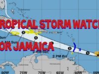 Jamaica Under Tropical Storm Watch – Disaster Relief Ready To Respond To Flooding This Weekend