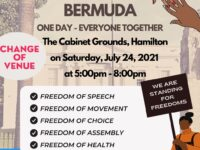 Worldwide Rally For Freedom Moves To The Cabinet Grounds