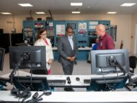 US Consul General & Deputy Premier Observe NASA Rocket Launch From Bermuda's Tracking Station