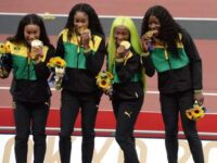 TASTE FOR GOLD:Jamaica's Female Quarter-Milers Bring Curtains Down On Olympics With Relay Bronze