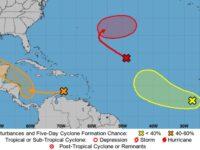 Three Tropical Disturbances In The Atlantic To Watch