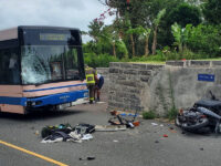 Police: Motorcyclist Collides With A Bus Rushed To KEMH With Serious Injuries
