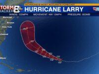 Larry Still A Major Hurricane; Dangerous Rip Currents Expected Along Western Atlantic Shores
