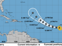 Hurricane Larry Strengthens, Could Hit Category 4 Status Saturday Night