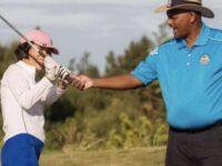 'Free Golf Coaching On Flora Duffy Day With Port Royal Developmental Golf Program'